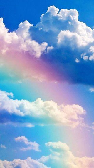 Обои на телефон lovely day, небо, облака, фантазия, радуга, весна, лето, день, прекрасные, небеса, солнечные