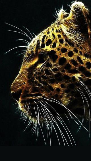 Обои на телефон леопард, wqjo, krlh