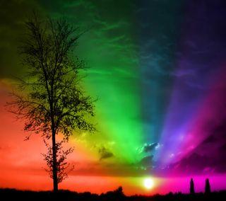 Обои на телефон сумерки, цветные, colors at dusk, -----------