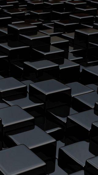 Обои на телефон куб, черные, только, стена, only black, cube wall, clen black wall, black wall, black cube