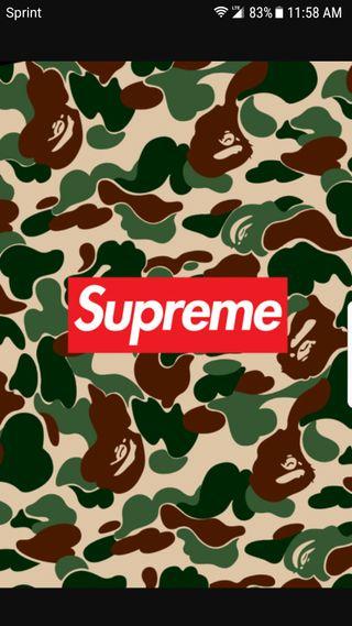 Обои на телефон камуфляж, логотипы, дорогие, camo supreme