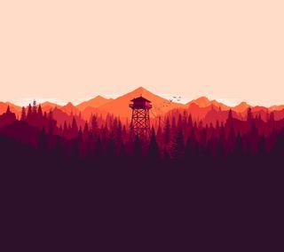 Обои на телефон коричневые, оранжевые, лес, красые, арт, абстрактные, materialism