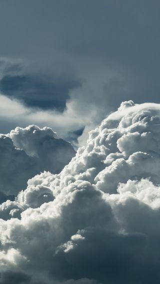 Обои на телефон облачно, природа, погода, облака, небо, hd, 1080p