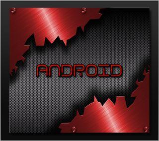 Обои на телефон дроид, черные, технологии, телефон, стальные, логотипы, красые, дизайн, андроид, android