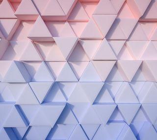 Обои на телефон треугольники, формы, треугольник, абстрактные, 3д, 3d