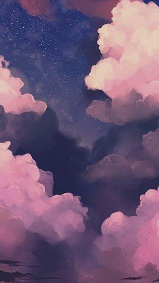 Обои на телефон милые, закат, whatsapp, nubes rosas, nube, hd, fondo, estrella