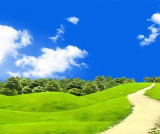 Обои на телефон холмы, природа, пейзаж, зеленые, green hills