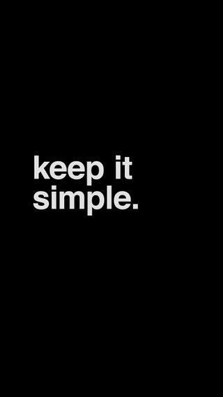 Обои на телефон оно, черные, простые, keep it simple, helvetica