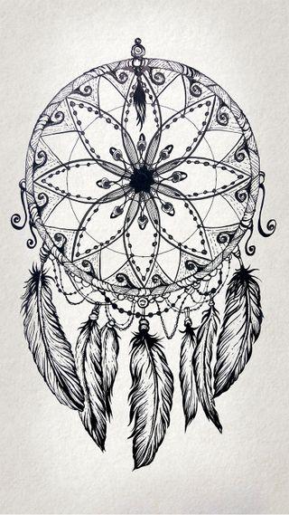Обои на телефон панк, чернила, хипстер, татуировки, тату, ловец снов, крутые, дизайн, арт, dreamcatcher design, art
