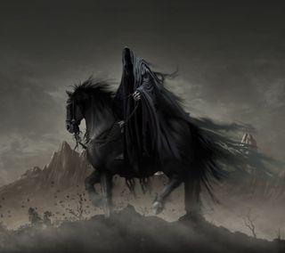 Обои на телефон всадник, темные, dark rider
