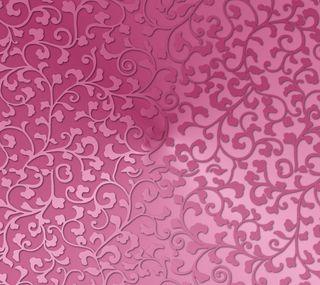 Обои на телефон градиент, цветочные, розовые, милые