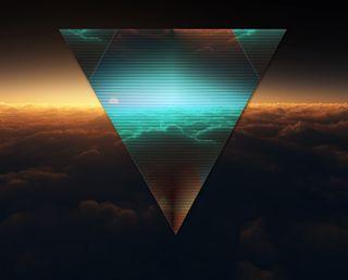 Обои на телефон формы, фигура, треугольник, темные, иллюминаты
