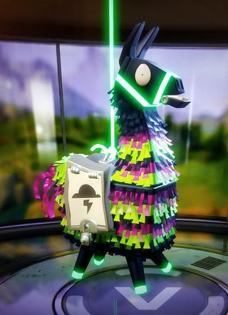 Обои на телефон шторм, фортнайт, storm llama, llama, in to the storm, fortnite