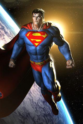 Обои на телефон супермен, комиксы, dc