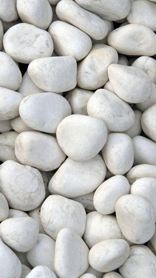 Обои на телефон камни, белые, peebles