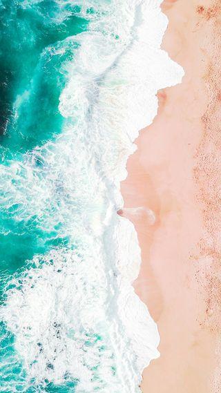 Обои на телефон синие, прекрасные, океан, море, foam, blue sea