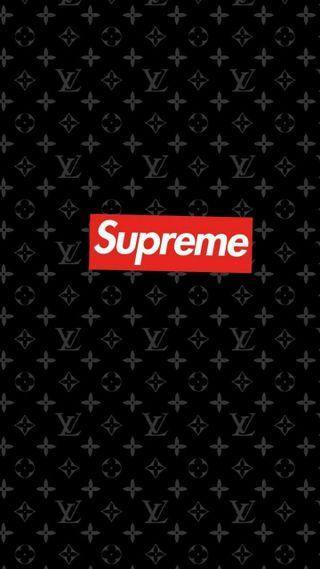 Обои на телефон фон, луи витон, supreme lv, supreme