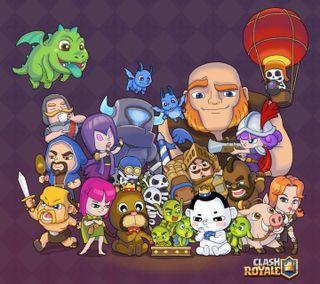 Обои на телефон симпатичные, мультфильмы, игры, аниме, clash royal pretty, accion