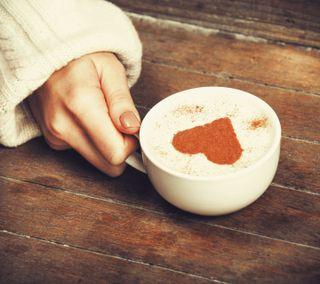 Обои на телефон чай, сердце, кофе, девушки, tea and coffee