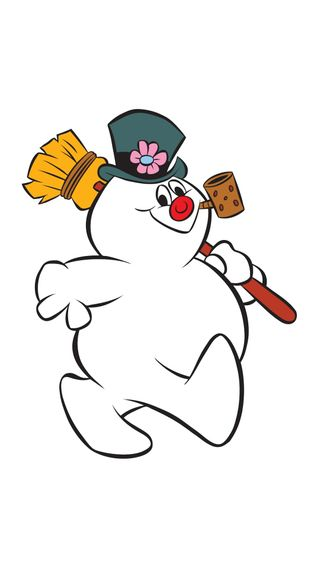Обои на телефон снеговик, рождество, frosty
