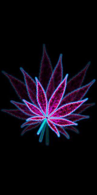 Обои на телефон дым, черные, фиолетовые, листья, абстрактные