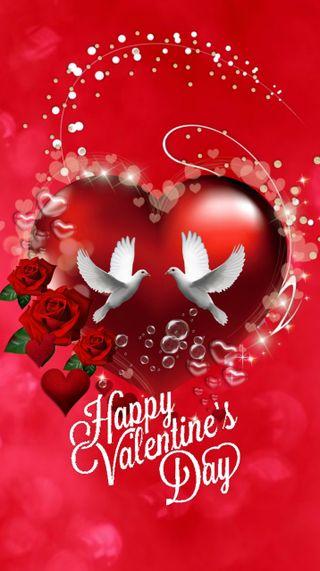 Обои на телефон сердце, розы, любовь, день, love, 720x1280px
