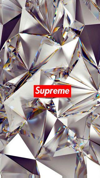 Обои на телефон бриллиант, арт, supreme, art