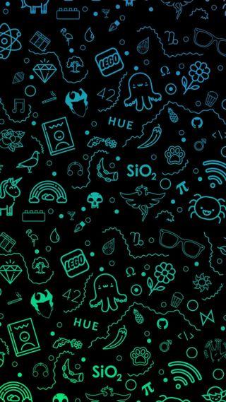 Обои на телефон панк, череп, темные, мультфильмы, мертвый, whatsapp