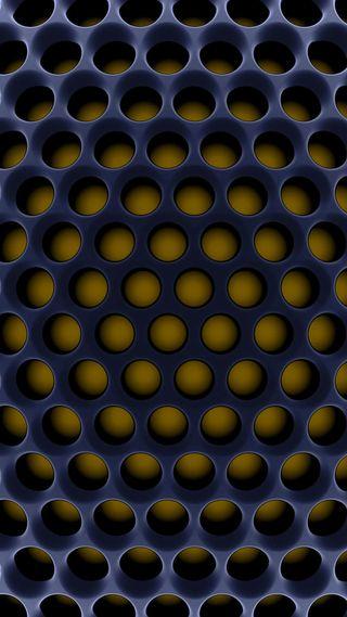 Обои на телефон узоры, шаблон, черные, металл, золотые, желтые, грани