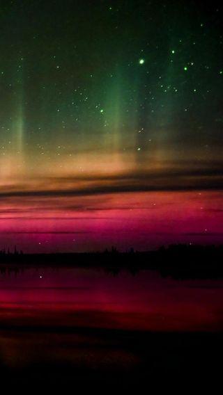 Обои на телефон цвета, сияние, северный, огни, небо, аврора, northern lights