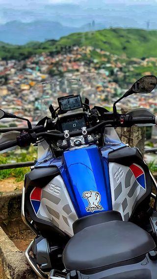 Обои на телефон мотоциклы, бразилия, бмв, байк, viela, morro, gs1200vmilikude, gs1200, grau, favela, bmw