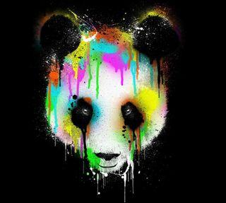 Обои на телефон панда, животные, artistico
