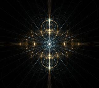 Обои на телефон энергетики, фрактал, черные, синие, космос, золотые, дух, jewell n3, jewell