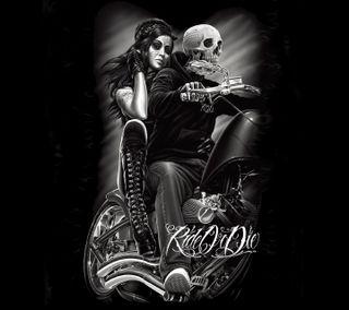 Обои на телефон умри, поездка, всадник, фильмы, ночь, ride or die, night rider