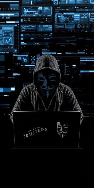 Обои на телефон что-то, хакер, технология, технологии, темные, взлом, unknown, pc, do something hacker