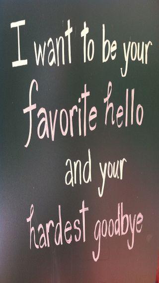 Обои на телефон цитата, привет, любовь, жизнь, высказывания, love, hello and goodbye, hello and  goodbye, hello, googbye