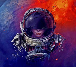 Обои на телефон цветные, растения, космос, космонавт, женщина, девушки, артистические, si fi
