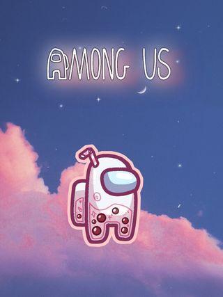 Обои на телефон розовые, персонажи, игры, видео, амонг, pink crewmate, imposter, crewmate, among sus
