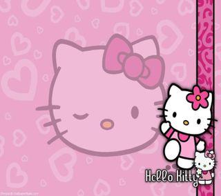 Обои на телефон привет, розовые, милые, любовь, котята, девчачие, love, hello