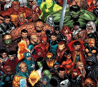 Обои на телефон халк, росомаха, паук, марвел, комиксы, каратель, гражданская, война, spider man, marvel civil war, marvel, dc