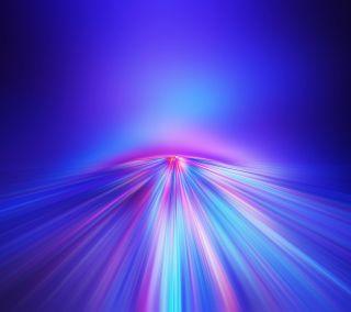 Обои на телефон линии, фиолетовые, синие, светящиеся, свет, розовые, дорога