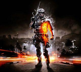 Обои на телефон темные, огонь, игры, battlefieldbg01, battlefield