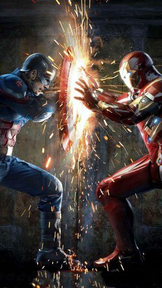 Обои на телефон стив, против, марвел, капитан, железный, гражданская, война, tonystark, steve rogers, marvel, civilwar, captain vs iron