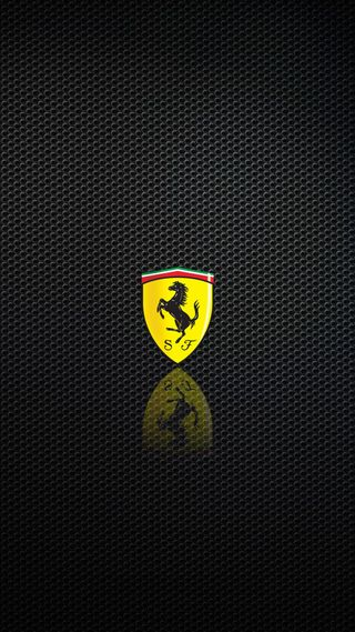 Обои на телефон феррари, новый, логотипы, карбон, италия, new ferrari logo, ferrari