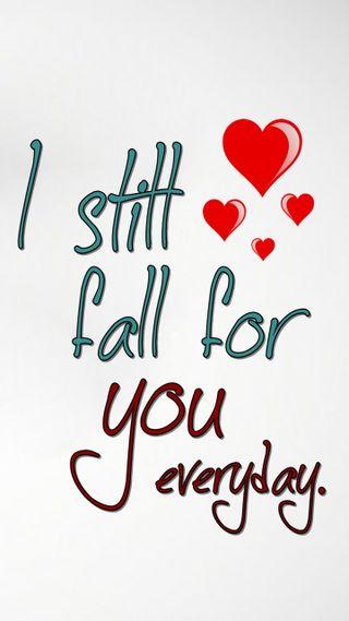 Обои на телефон флирт, цитата, ты, романтика, поговорка, осень, новый, любовь, знаки, love, fall for you