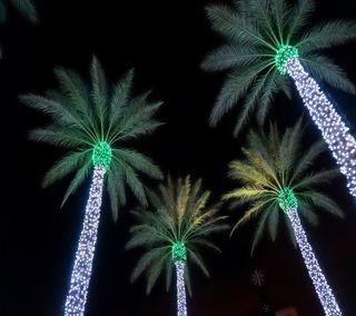 Обои на телефон рай, тропические, рождество, праздник
