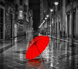 Обои на телефон амбрелла, красые, red umbrella