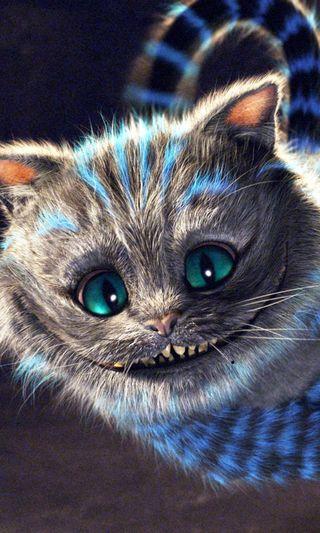 Обои на телефон анимационные, фильмы, страна чудес, кошки, алиса