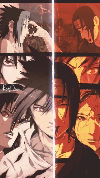 Обои на телефон саске, наруто, итачи, shippuden, sasuke and itachi