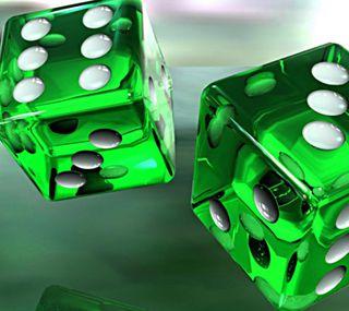 Обои на телефон кубы, зеленые